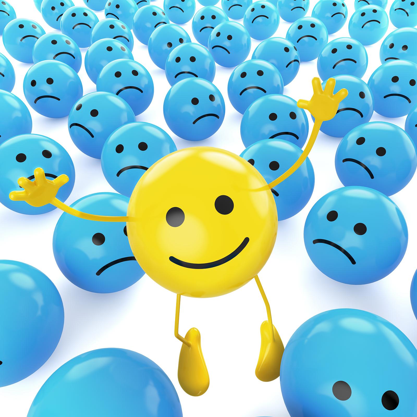 Рождением, картинки про позитивный настрой