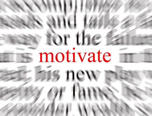 Why you can't motivate yourself to take action