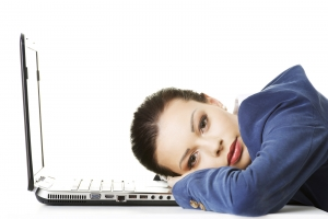 bigstock-Beautiful-bored-and-tired-busi-102213