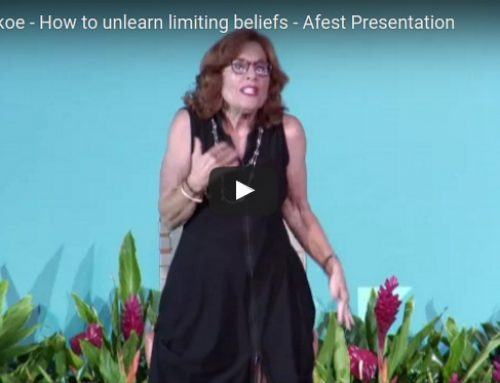 How to unlearn limiting beliefs – My Afest Presentation