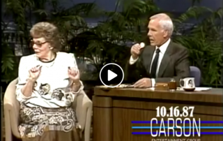 Myrtle Young On The Tonight Show