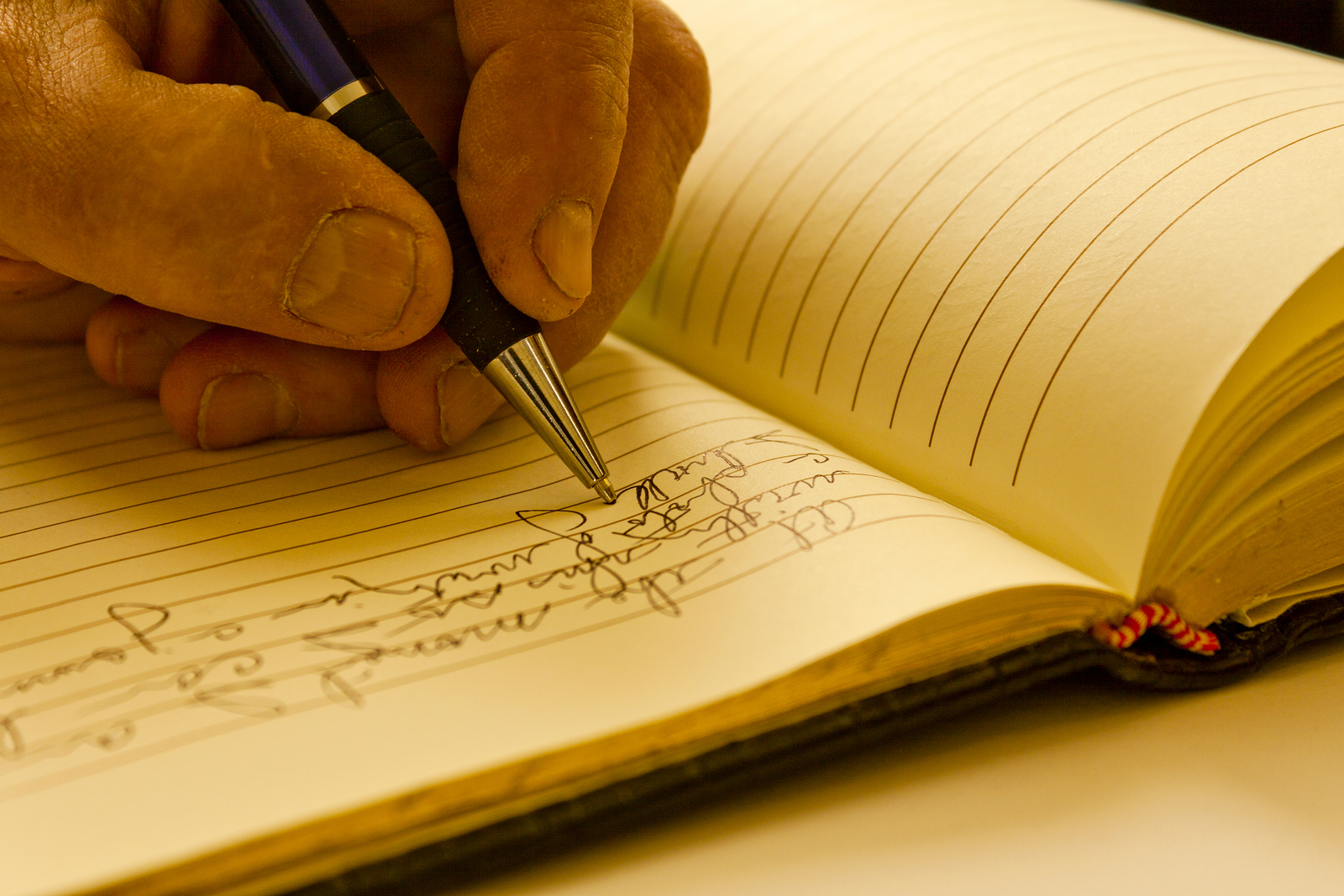 Tracking Your Progressive Overload -- Writing in Journal